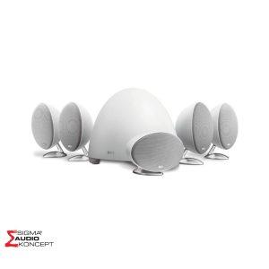 Kef E305 Sistem Bijeli 01