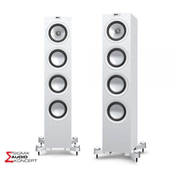 Kef Q550 Zvucnici Bijeli 01