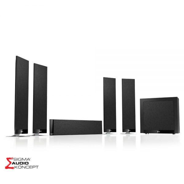 Kef T305 Sistem Zvucnika Crni 01