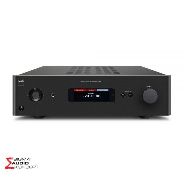 Nad C388 Dac Digitalno Analogni Konverter Bluos Display 01