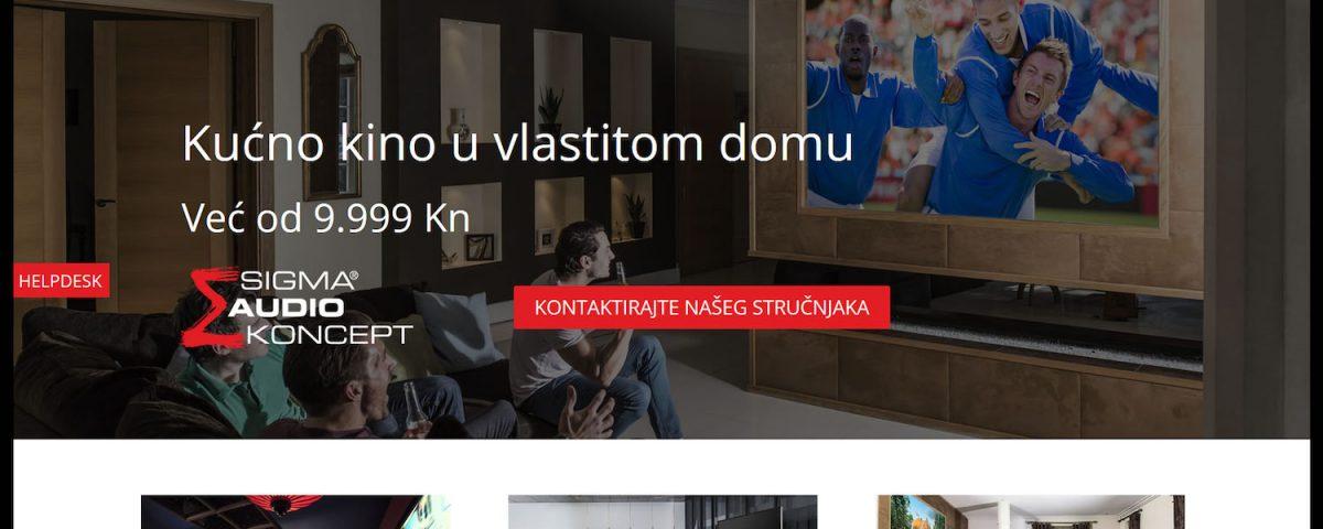 Sigma Audio Kucno Kino Web