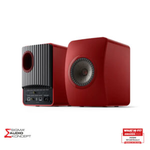 Kef Ls50 Wireless Ii Crveni Prednja Straznja Strana